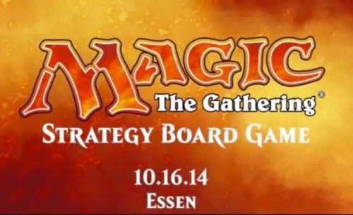 Magic, The Strategy Board Game logo