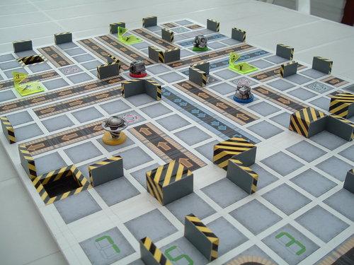 RoboRally, tablero 3D