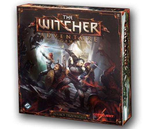 Portada de The Witcher Adventure game