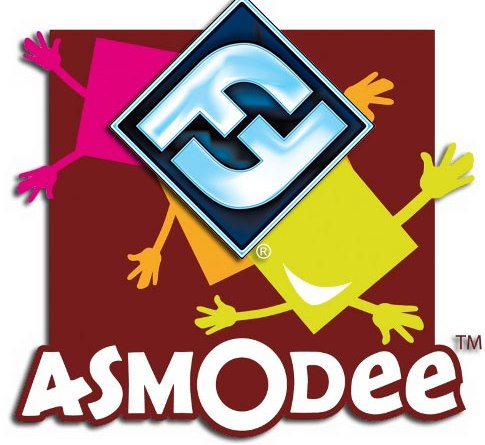 Logotipos de Asmodee y Fantasy Flight Games