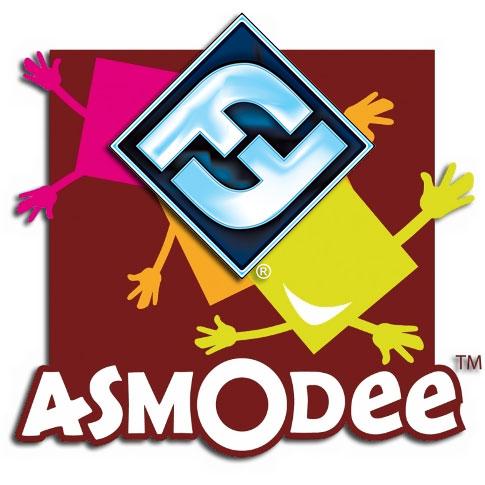 Logotipos de Asmodee y Fantasy Flight Games