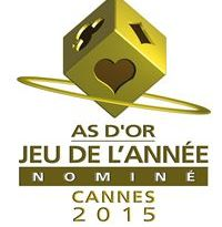 Logotipo del As d'or 2015
