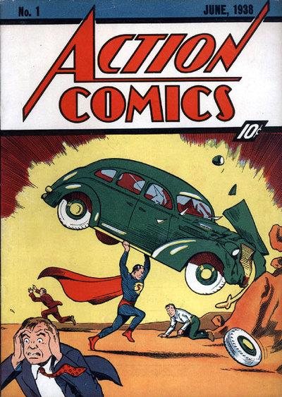 Action Comic, 1ª portada de Superman
