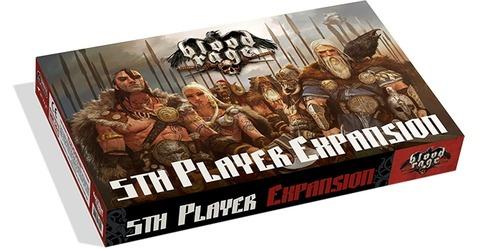 Expansión del quinto jugador de blood rage