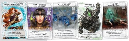 cartas de Ashes Rise of the phoenixborn