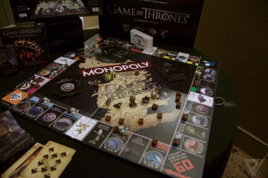 Tablero de Monopoly de Juego de Tronos