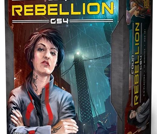 Portada de Coup Rebellion G54