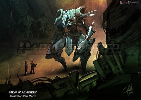 Ilustración de Dark Frontier