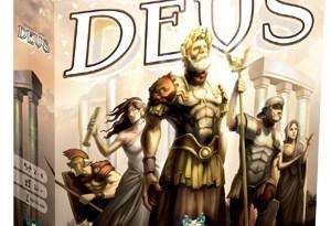 Caja del juego Deus de Asmodee
