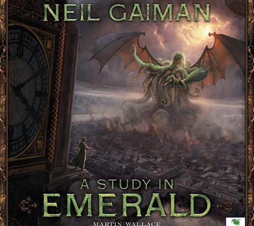 Portada de la segunda edición de A Study in Emerald