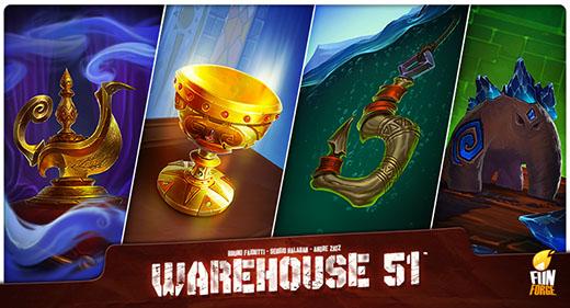 Objetos de Warehouse 51