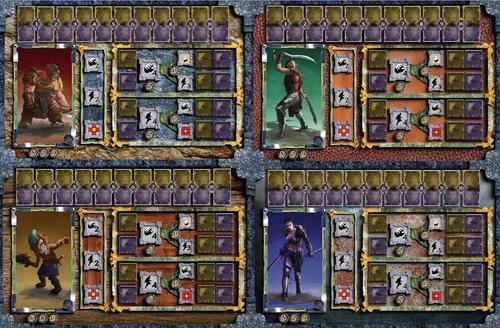 Personajes de Portal of Morth