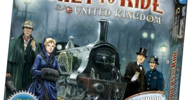 Portada de aventureros al tren Reino Unido