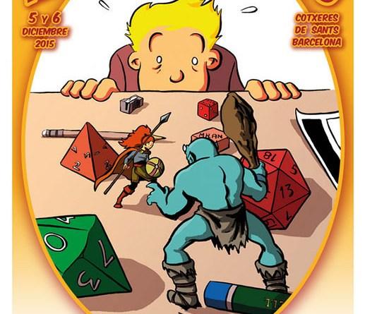 Cartel de las XV jornadas solidarias de ayudar jugando