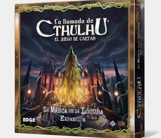 Portada de la marca de la locura, decima expansión de La llamada de Cthulhu