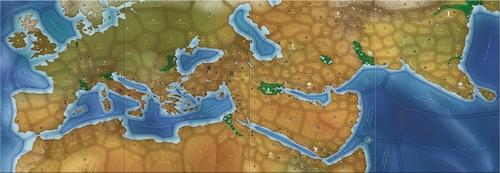 Mapa de mega Civilization