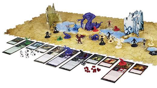 Componentes de Magic Battle for Zendikar