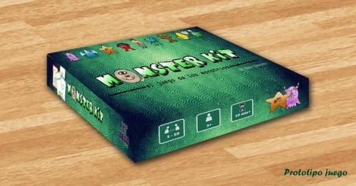 Caja Prototipo de Monster Kit