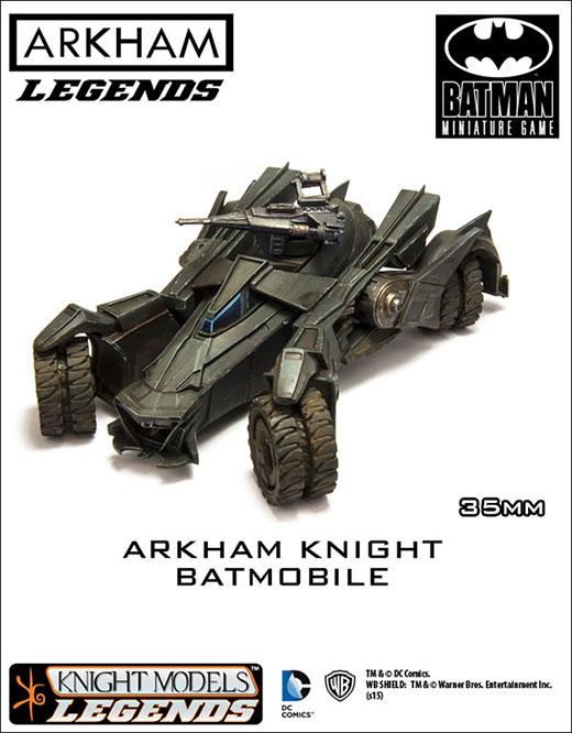 Batmobile de Batman miniature game