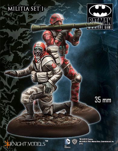 Milicia del espantapájaros para Batman miniature game