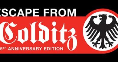 Logo de la fuga de colditz 75 aniversario