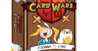Portada del Pack de Fionna y cake de Hora de Aventuras Card Wars