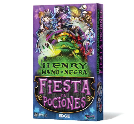 Portada de Black-Handed Henry's Potion Party