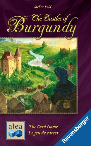 Portada de The Castles of Burgundy : The Card Game