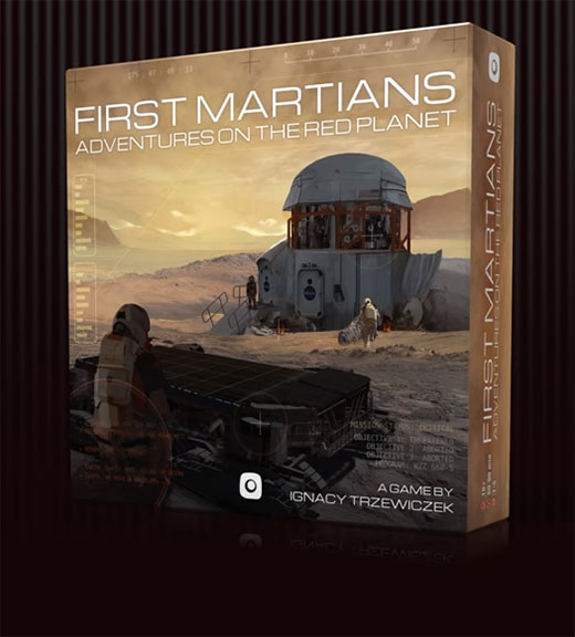 Portada de The First Martian de Portal games