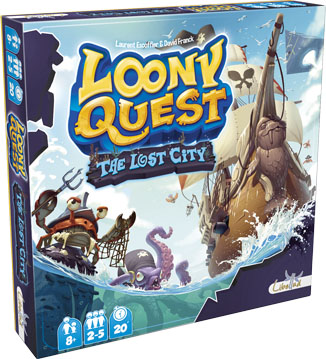 Portada de Loony Quest The lost City
