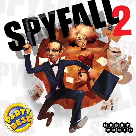 Portada de Spyfall 2