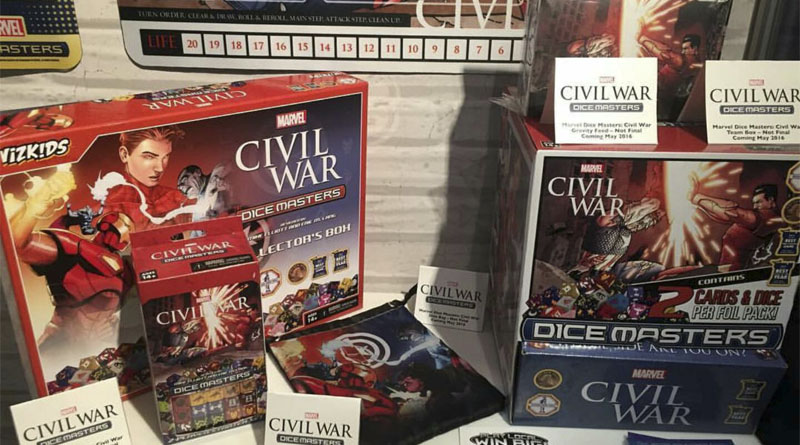 Presentación de dice master civil war