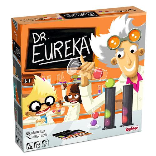 portada del juego de mesa Dr. eureka