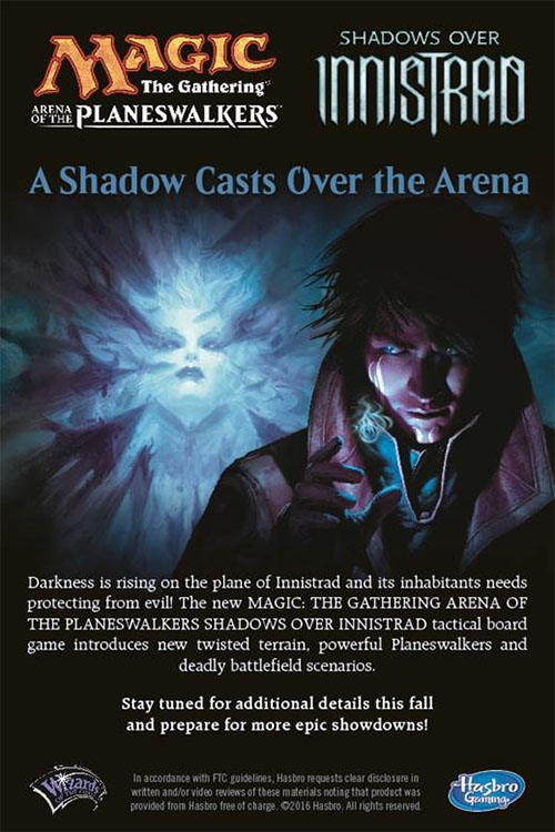 Anuncio de Magic The Gathering Arena Of The Planeswalkers Shadows Over Innistrad