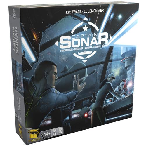 Portada de Captain Sonar