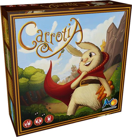 Portada de uno de los juegos familiares de Mage Company Carrotia