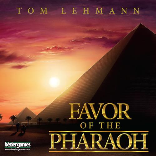 Portada de favor of Pharaoh ganador del Mensa Select 2016