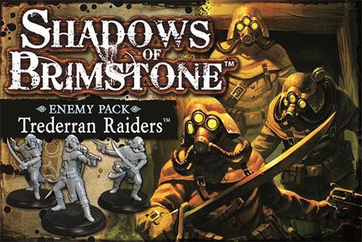 Trederran Raiders enemy pack de Shadows of Brimstone