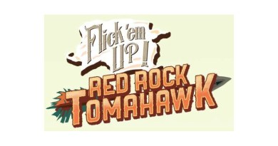 Logotipo de Flick-'emUp! Red Rock Tomahawk