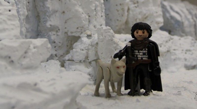 jon Snow de juego de tronos en playmobil