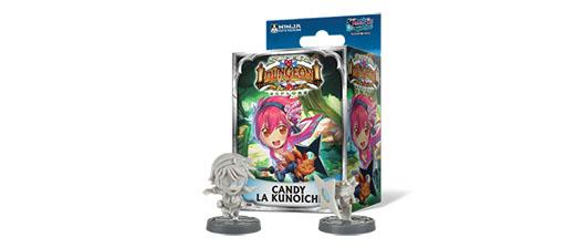 Expansión de Candy la Kunoichi de super Dungeon Explore