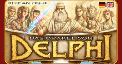 Detalle de la portada alemana de Oracle of Delphi