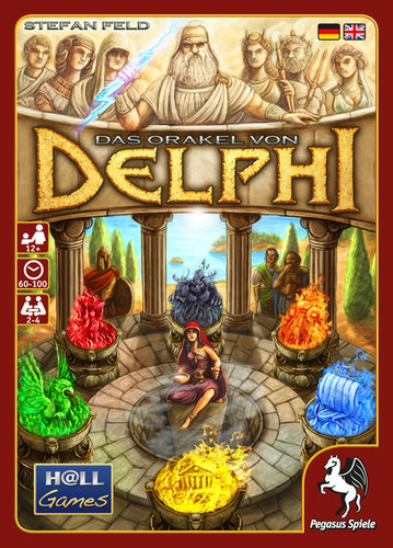 Portada de Oracle of Delphi