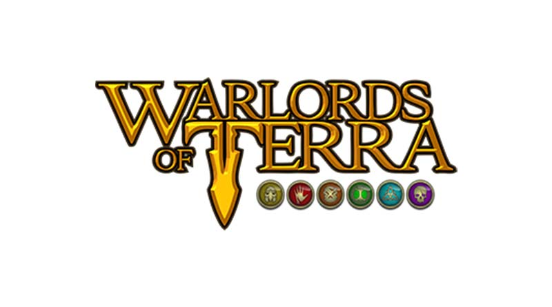 Logotipo de de warlords of terra