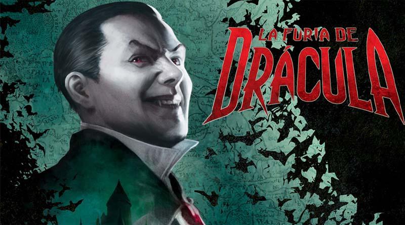 Arte de la caja de la furia de Drácula