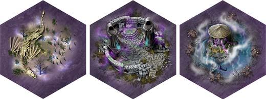 Nuevas losetas de terreno de barony Sorcery