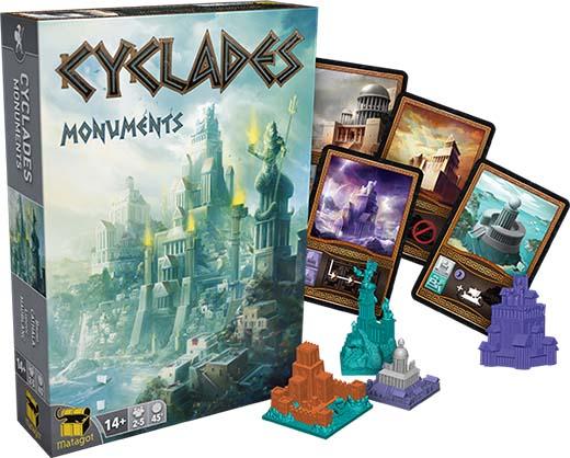 Componentes de Cyclades Monuments