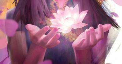 detalle de la portada de lotus