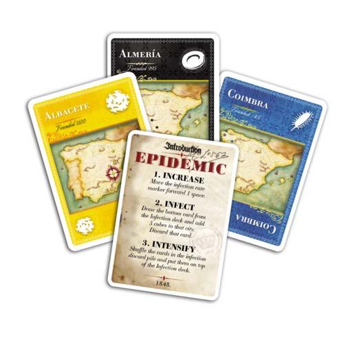 Pandemic-Iberia-Cartas