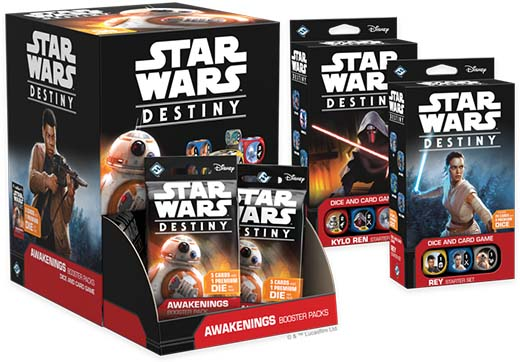 Starters de Star wars destiny